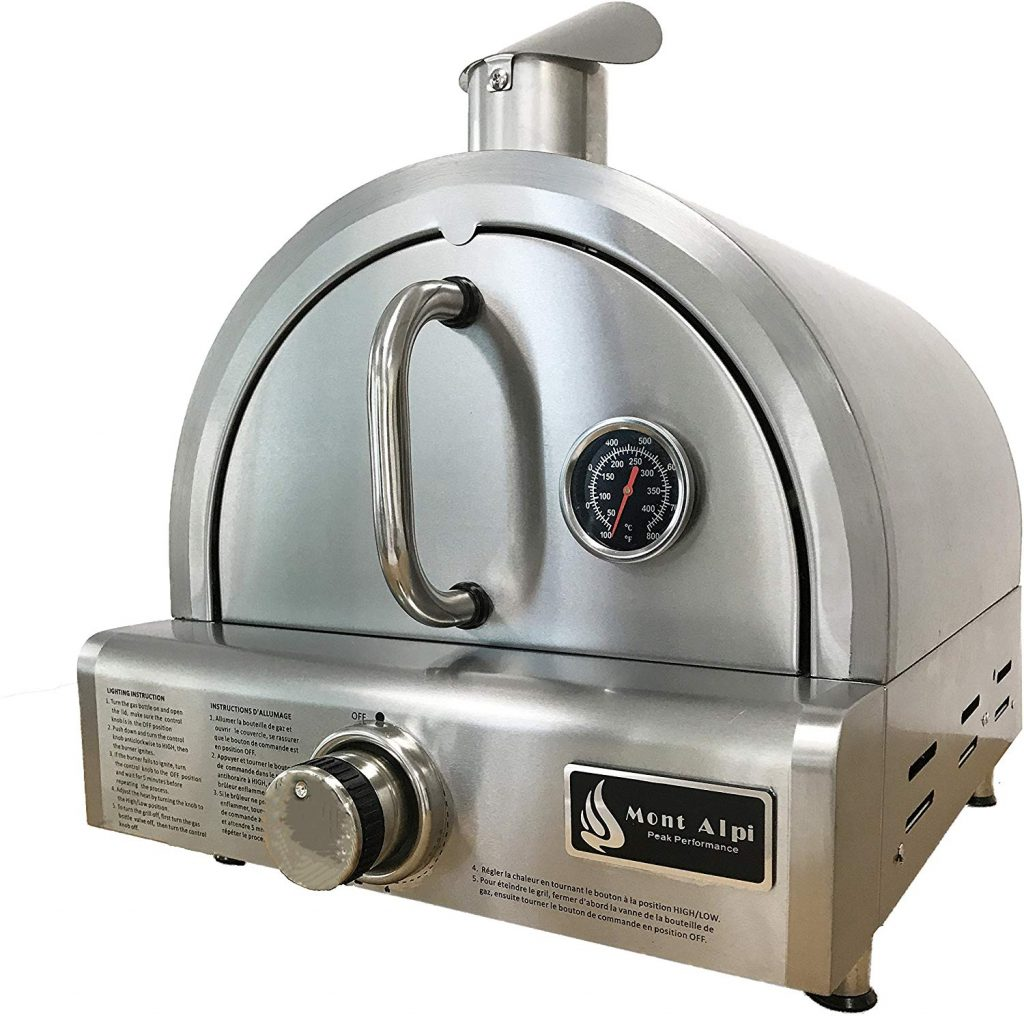 Mont Alpi MAPZ-SS gas pizza oven - photo 3