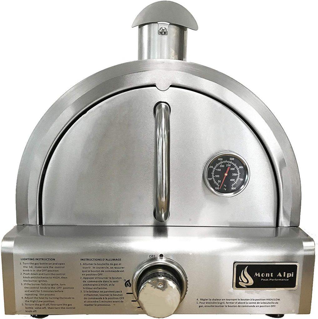 Mont Alpi MAPZ-SS gas pizza oven - photo 2