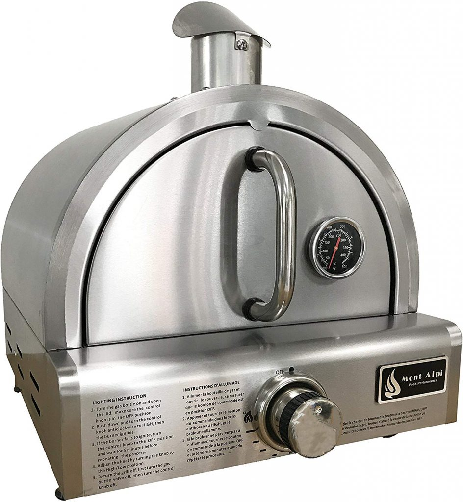 Mont Alpi MAPZ-SS gas pizza oven - photo 4