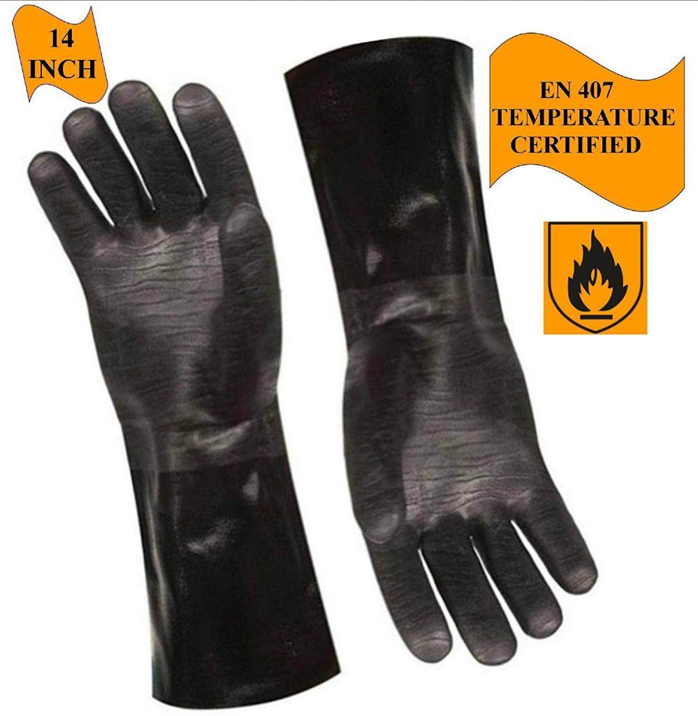 Artisan griller bbq heat res gloves - photo 4
