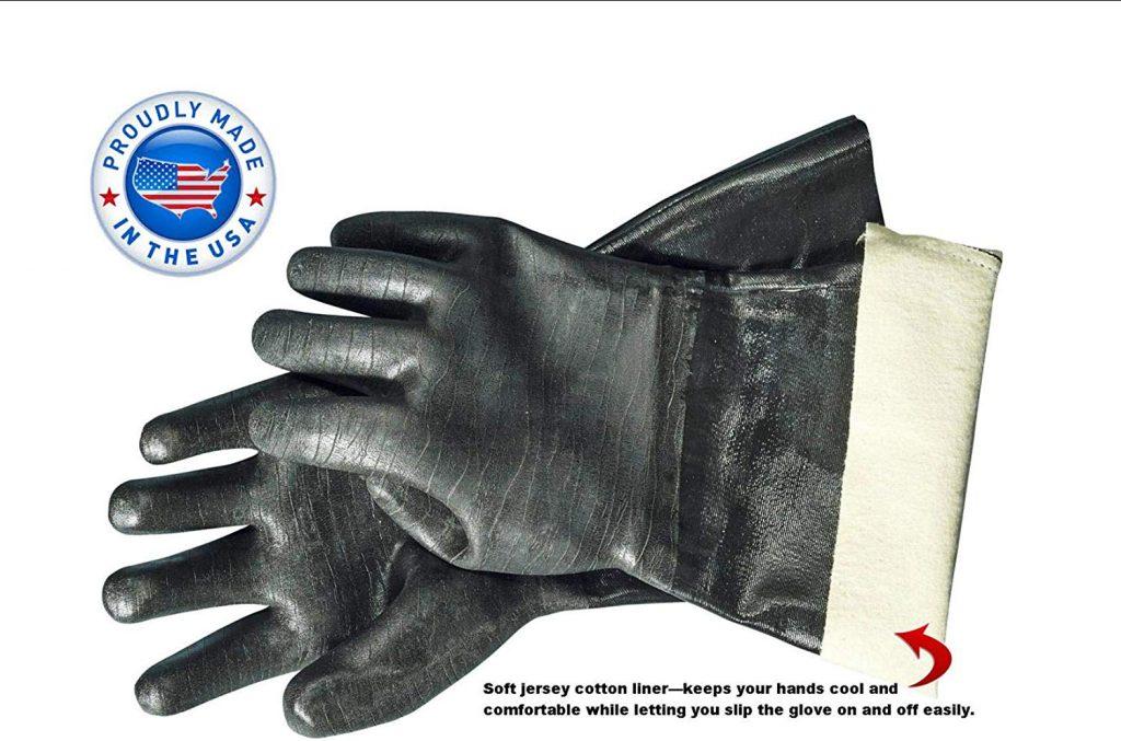Artisan griller bbq heat res gloves - photo 3