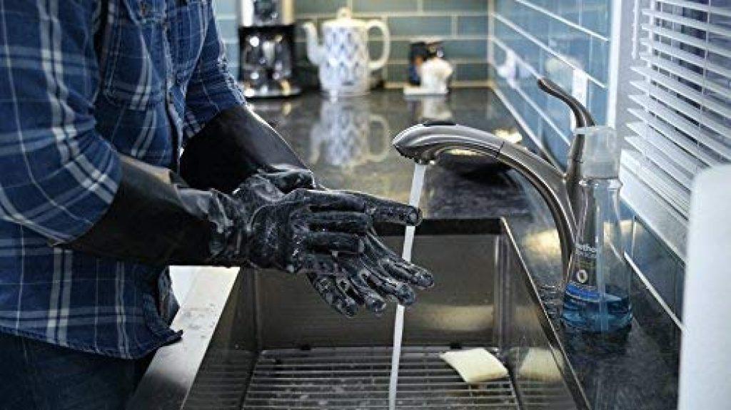 Artisan griller bbq heat res gloves - photo 1