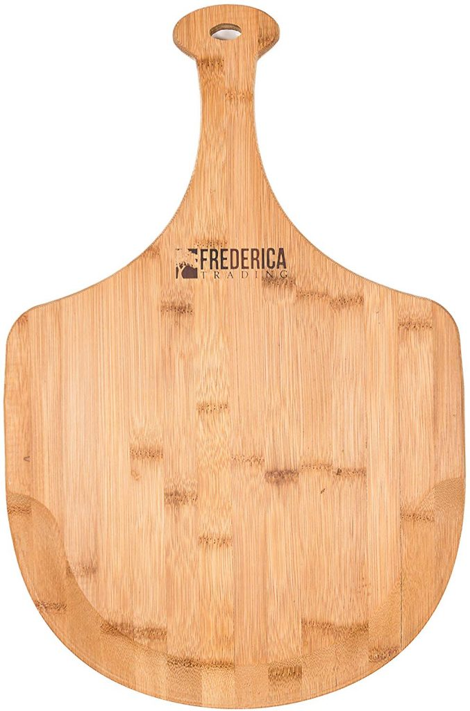 Bamboo wooden pizza peel - photo 2