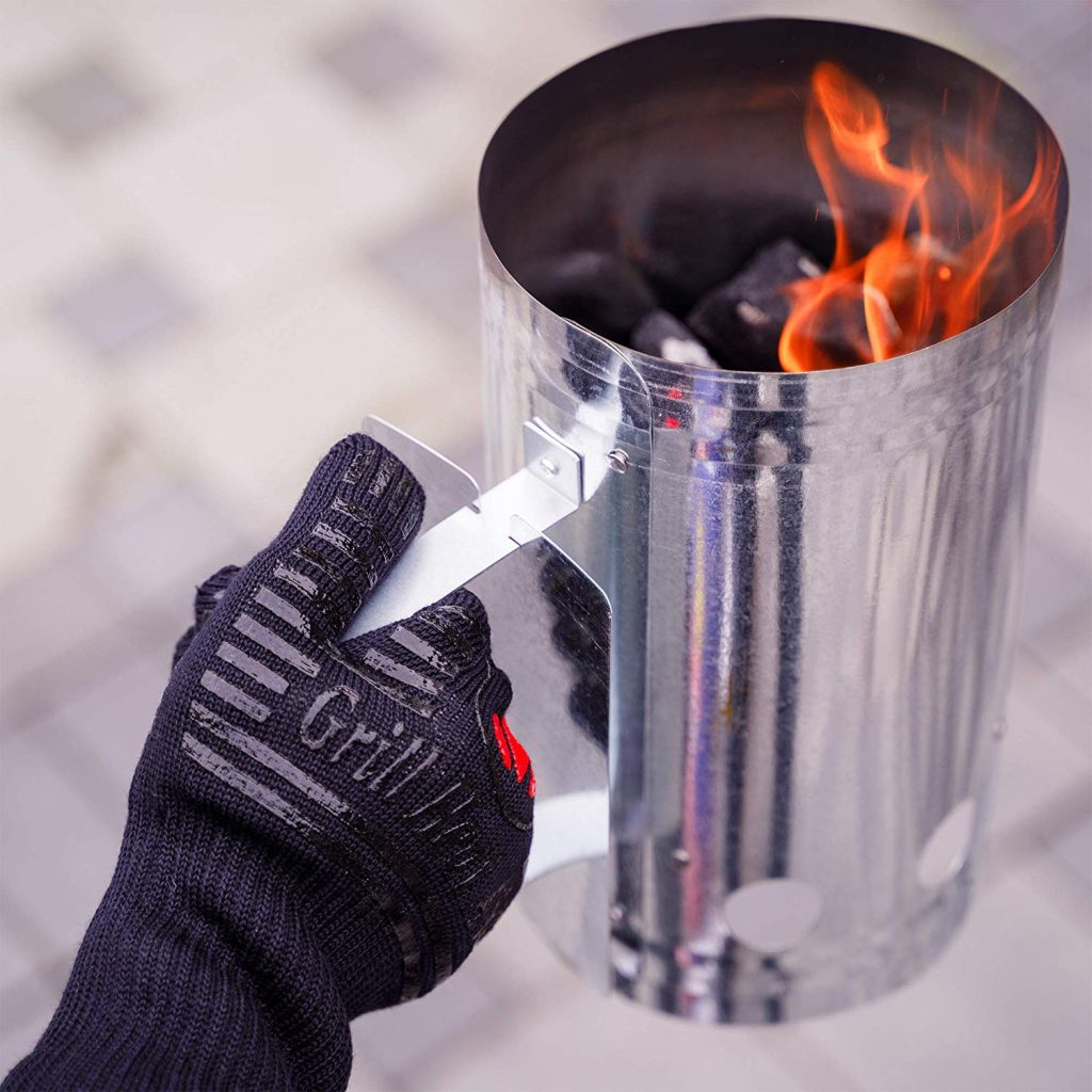 BBQ gloves extreme heat resistant - photo 4