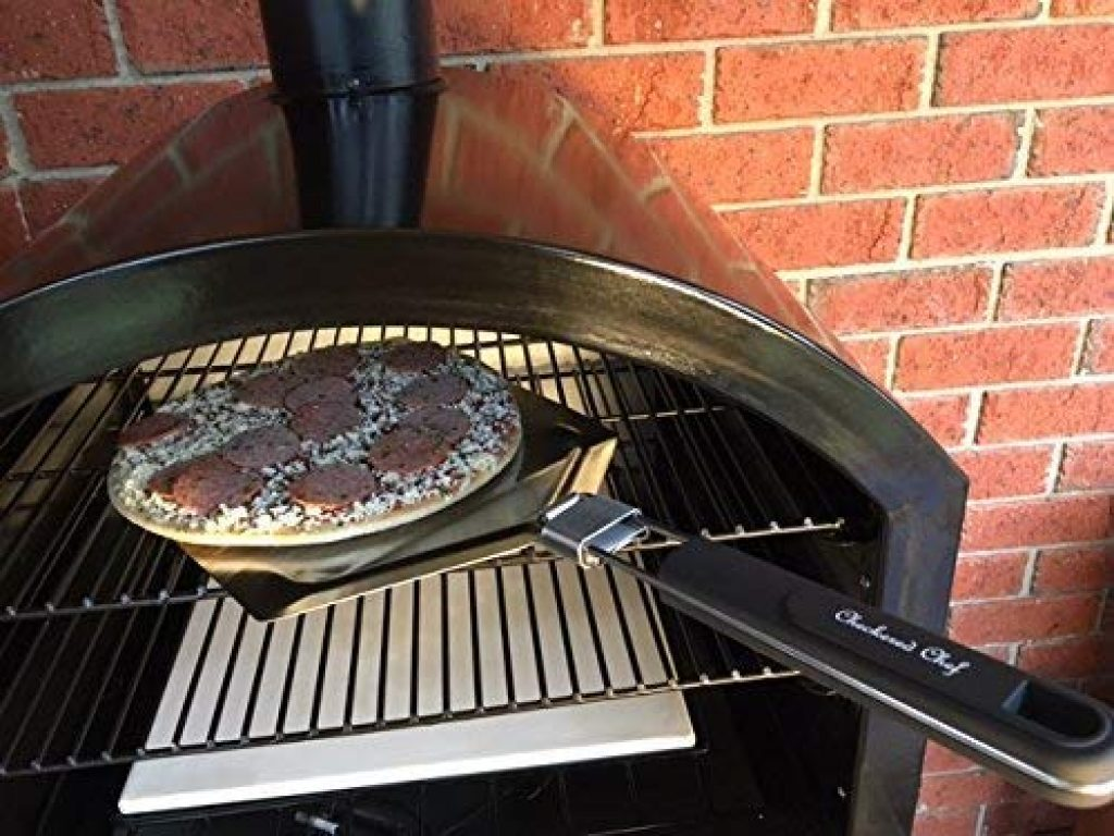 Checkeredchef stainless steel pizza - photo 1
