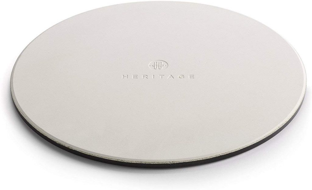 Heritage back ceramic pizza stone - photo 4