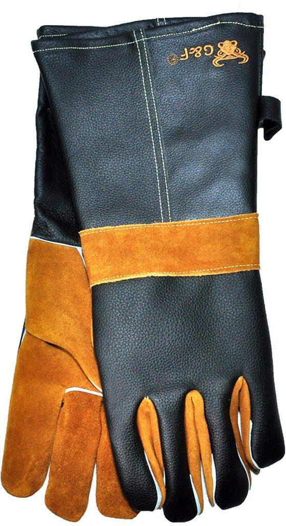 Long premium leather gloves - photo 3