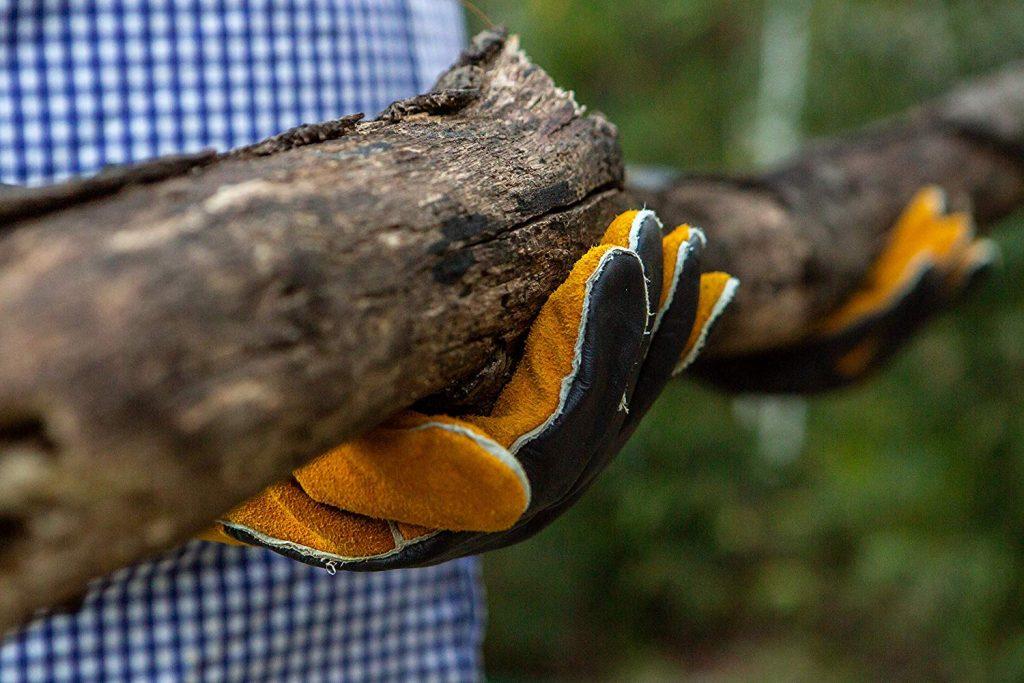 Long premium leather gloves - photo 1