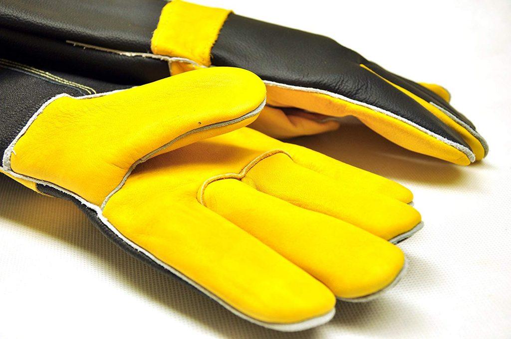 Long premium leather gloves - photo 4