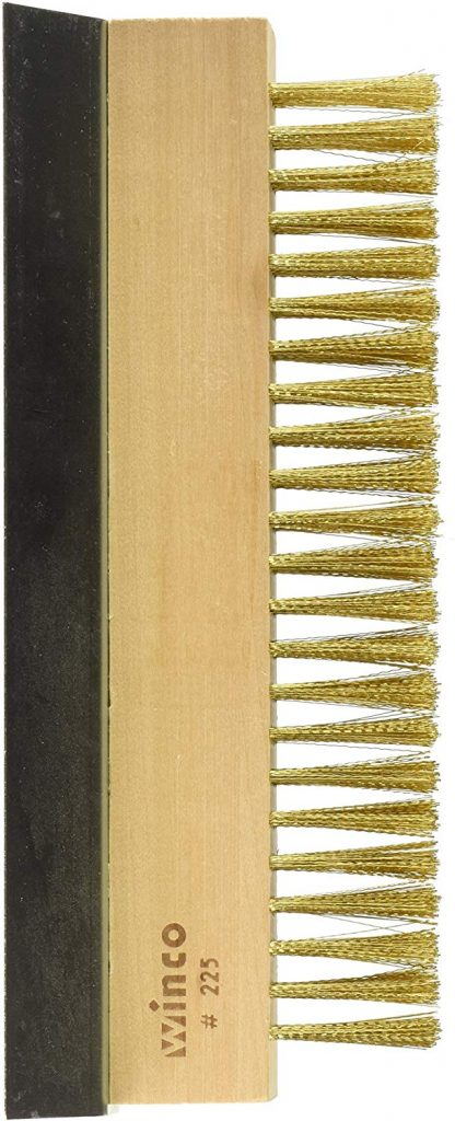 Winco BR 10 brass wire oven brush - photo 2