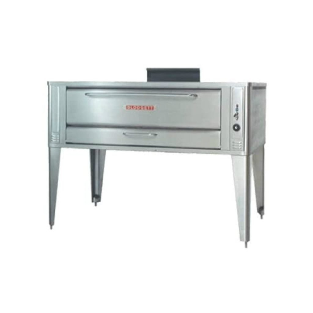 Blodgett-Stainless-Steel-Deck-Type-60-Gas-Single-Pizza-Oven