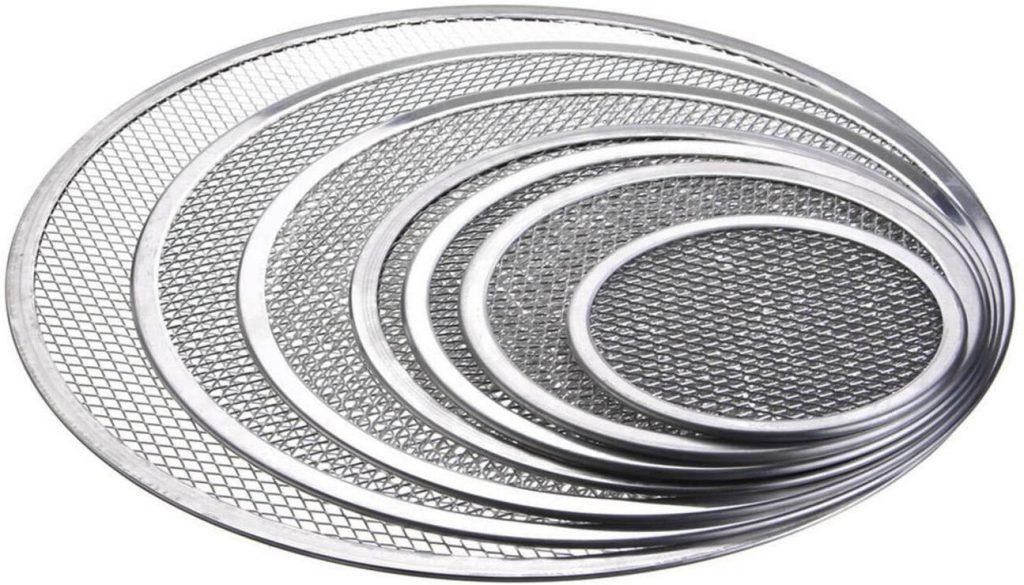DingSheng Seamless Aluminium Mesh Pizza Screen 1