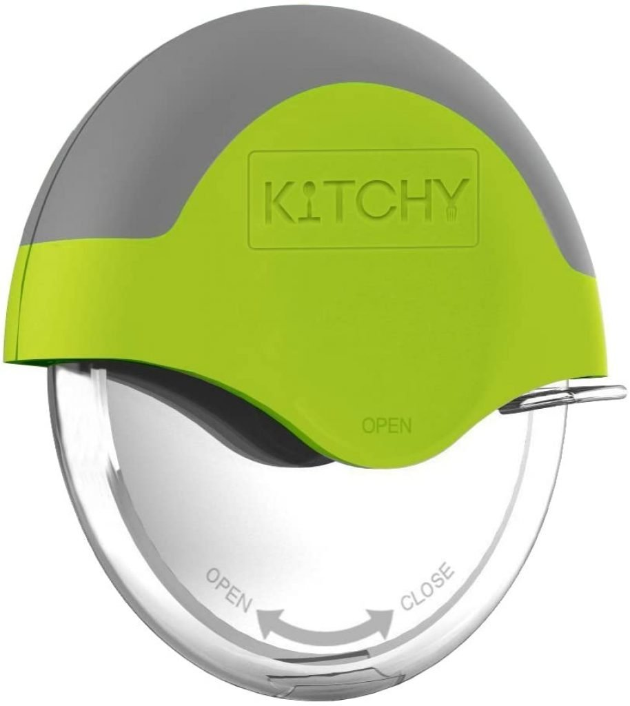 Kitchy Pizza Cutter Wheel - Super Sharp and Easy To Clean Slicer 1