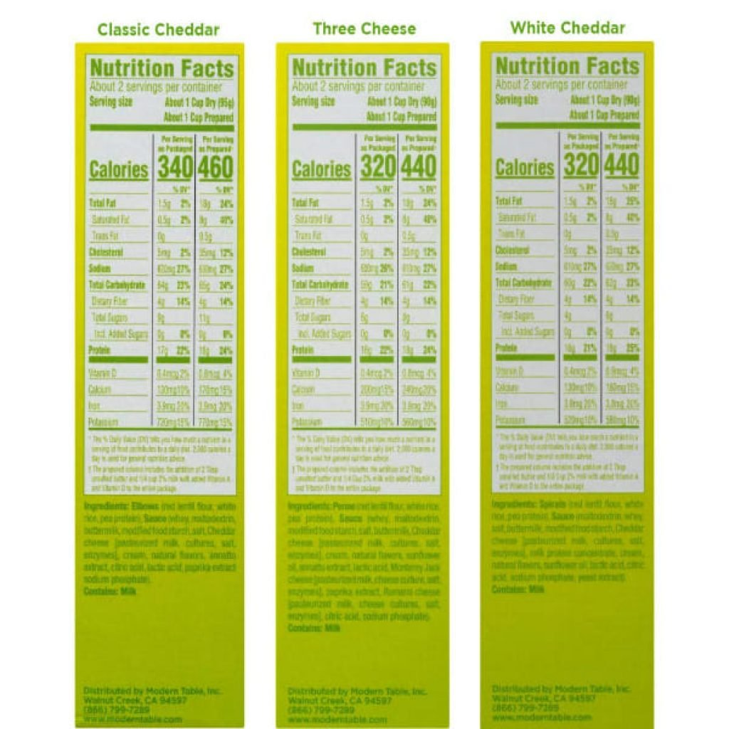 Modern Table Mac & Cheese Variety Pack