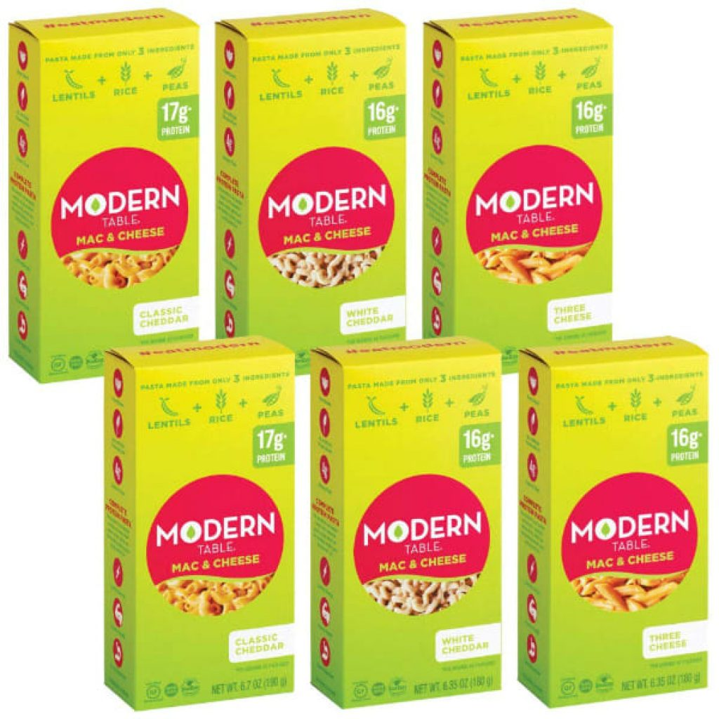 Modern Table Mac & Cheese Variety Pack, 6 Count