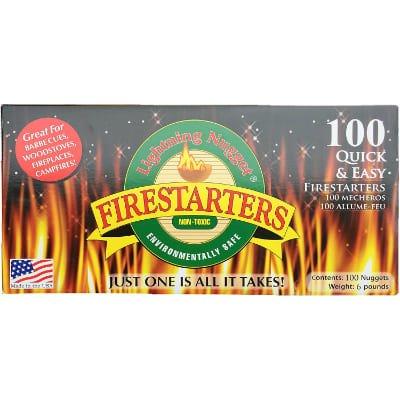Lightning Nuggets N100SEB Economy Box Fire Starter