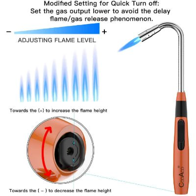 Torch Fire Lighter Jet Flame