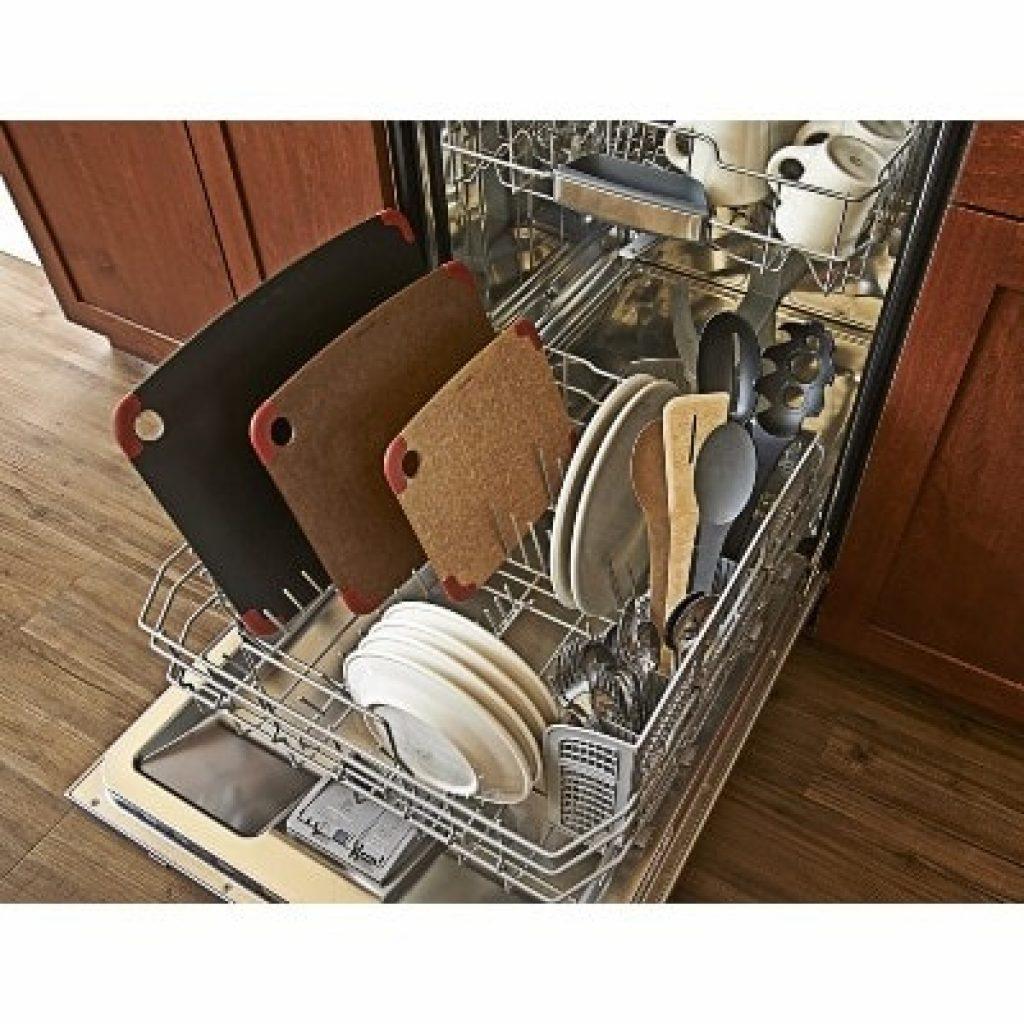 Epicurean Non-Slip Series Cutting Boards in a washing machine