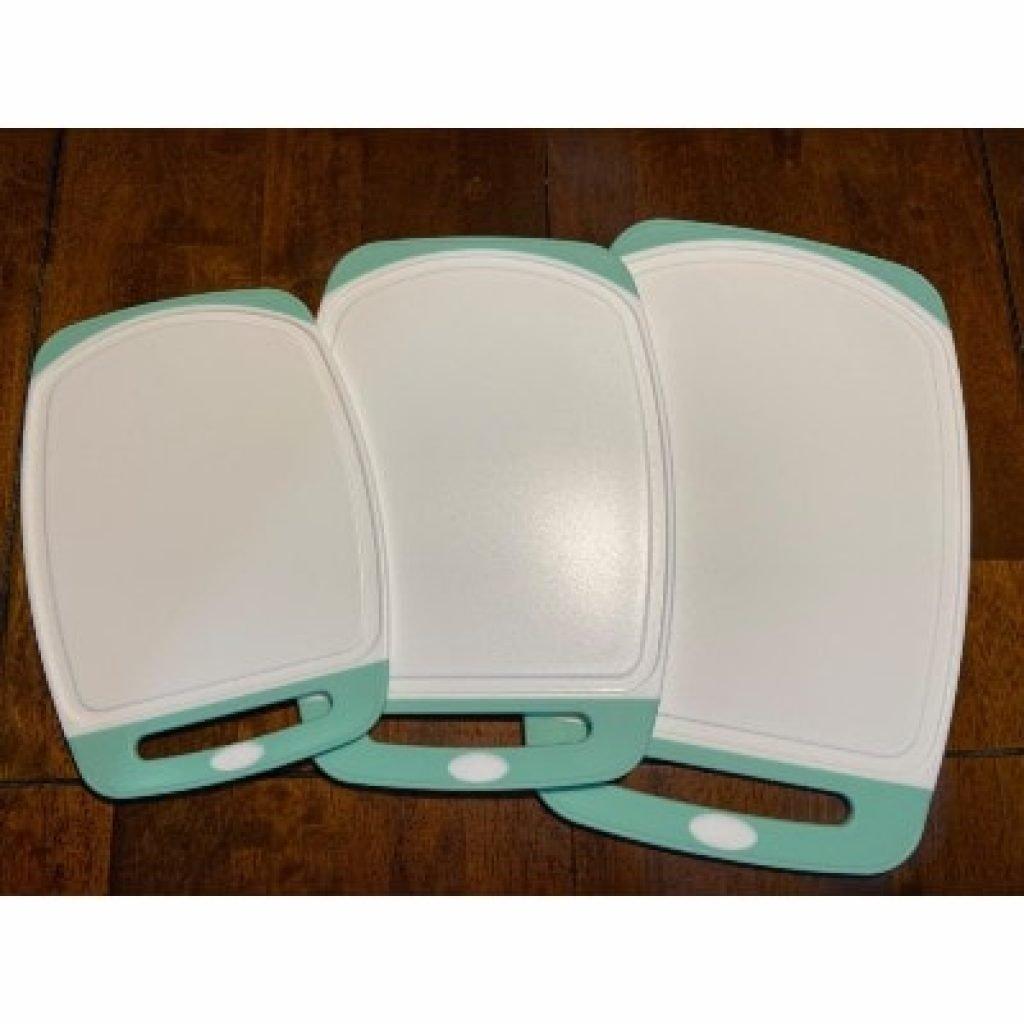 GORILLA GRIP Original Oversized Cutting Board, green