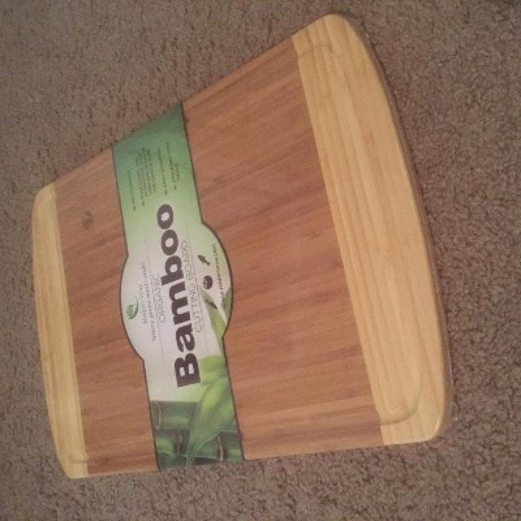 newly bought Midori Way Small Bamboo Wood Cutting Board