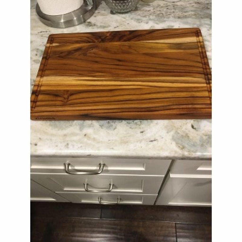 Ziruma Premium Grade-A Teak Wood Cutting Board