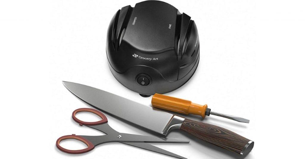 Knife Sharpener Electric 3-in-1 Tool - Sharpening Machine