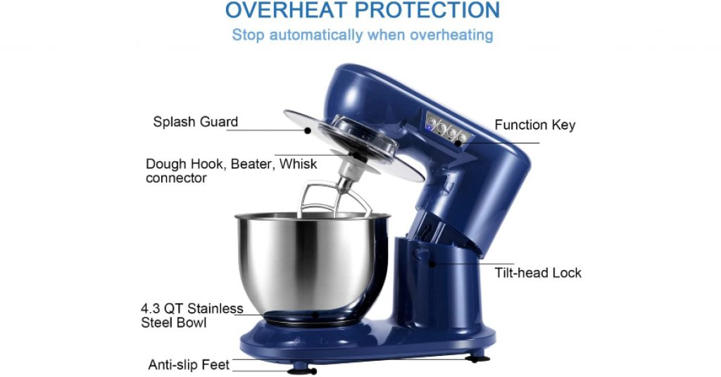 Aifeel Stand Mixer Overheat Protection