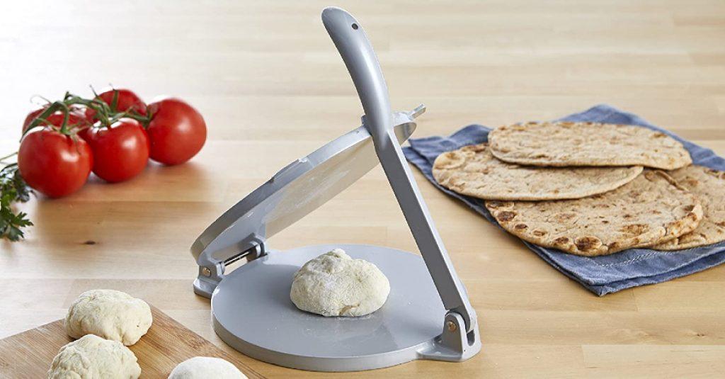 IMUSA USA 8-Inch Aluminum Tortilla Press