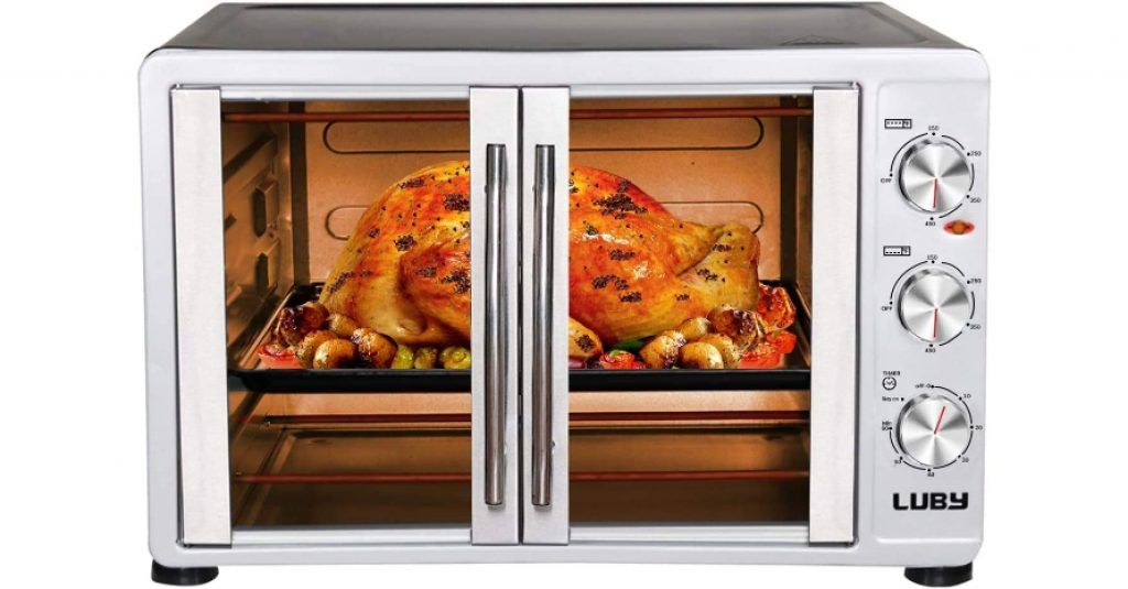 Luby Large Toaster Oven Countertop