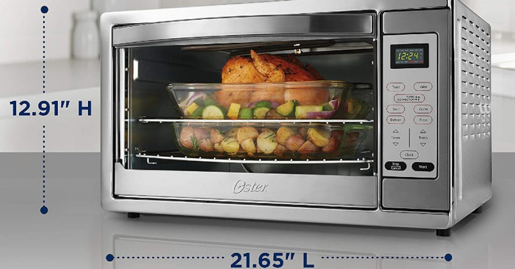 Oster Extra Large Digital Countertop Sizes