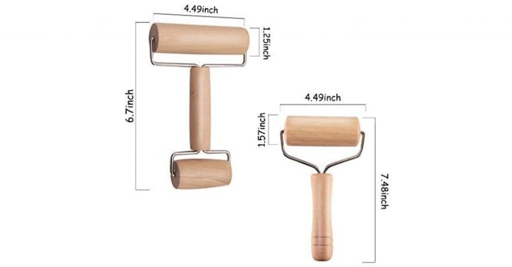 Wooden Rolling Pin Set Sizes